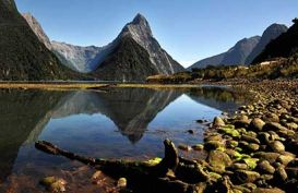 Milford Sound Reflection, New Zealand