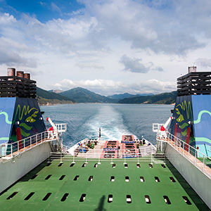 Interislander Ferry, New Zealand