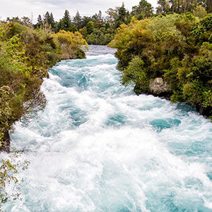 Huka Falls, Lake Taupo, New Zealand