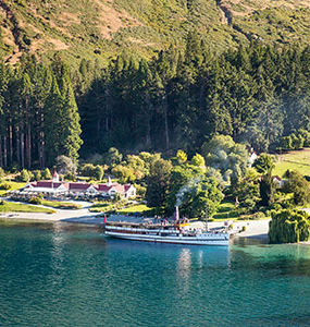 TSS Earnslaw, Queenstown, New Zealand