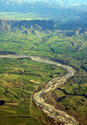 Waiau River, Canterbury, New Zealand
