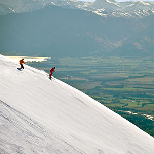 Complete NZ South Island ski tour