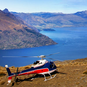 Take a scenic heli flight to get the best views of New Zealand