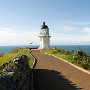 Cape Reinga, almost New Zealand's northern most point