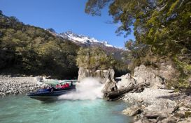 Venture into LOTR scenery and Mt Aspiring National Park with Dart River Wilderness Safaris