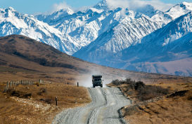Stunning Lord of the Ring scenery on this tour from Christchurch