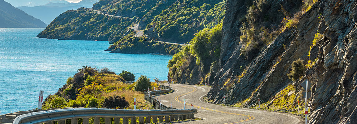 New Zealand's South Island roads are spectacular