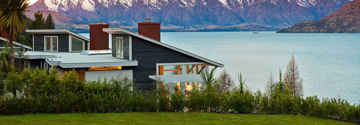 The View from Matakauri Lodge, Queenstown, New Zealand