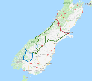 5 day Southern highlights including Milford Sound - view full itinerary