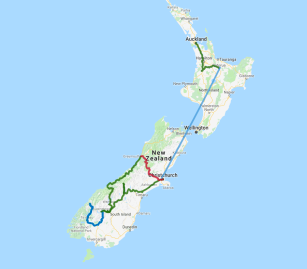 11 day New Zealand Highlights - view full itinerary