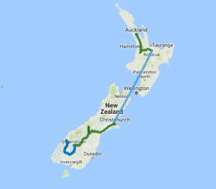 Auckland to Queenstown 10 day explorer - view full itinerary