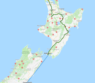 7 day Auckland to Christchurch Highlights Tour - view full itinerary