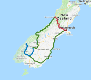 9 day Coast to Coast - view full itinerary