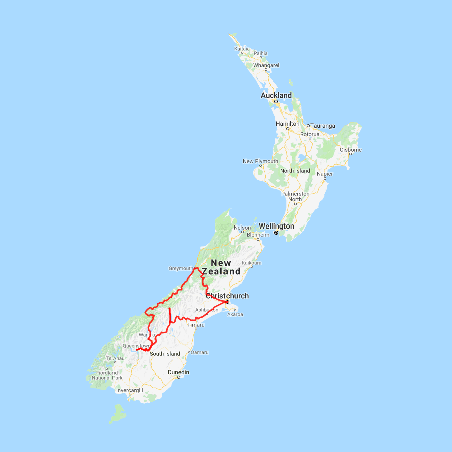 8 day Glacier and Queenstown Explorer - view full itinerary