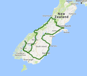 Grand Pacific 9 Day Taste of the South Island - view full itinerary