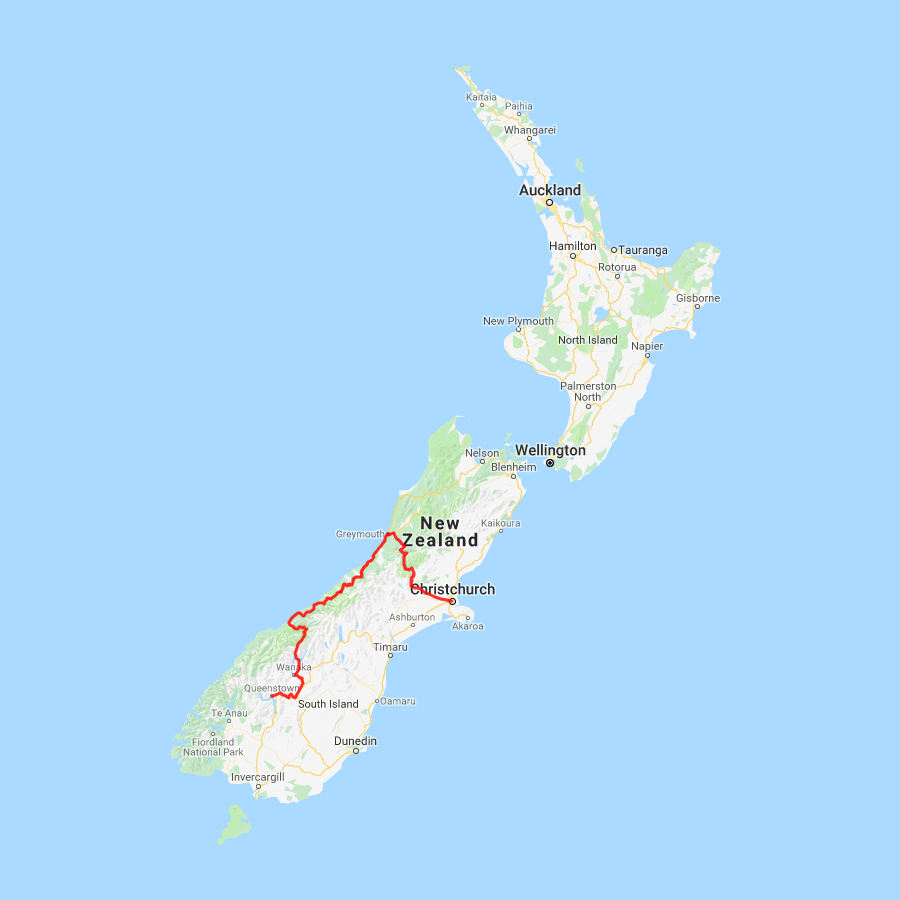 3 day Tranz Alpine and West Coast Glaciers to Queenstown - view full itinerary