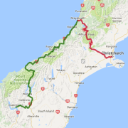 3 day West Coast Glaciers and Tranz Alpine to Christchurch - see the full details